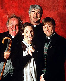 Click for short video tribute to Father Ted's Dermot Morgan