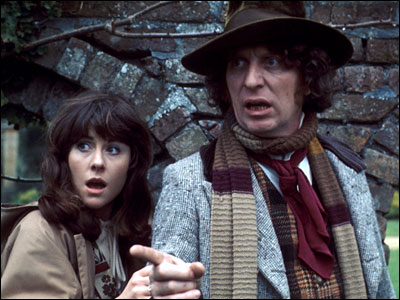 Sarah-Jane Smith - Girl Reporter and all-round awesome chick. (Liz Sladen - I want to know what face-cream or whatever you use cos you're still a total BABE.
